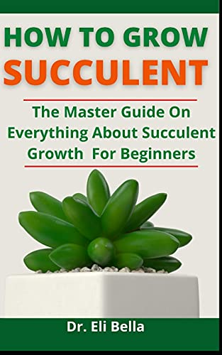 How To Grow Succulent: The Master Guide On Everything About Succulent Growth For Beginners