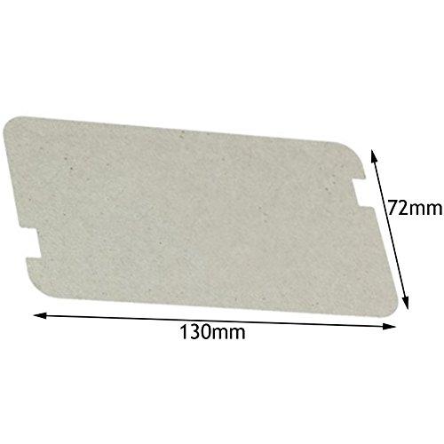 Spares2go-Wellenleiter-Abdeckung für Mikrowelle Sharp (130mmx 72mm)
