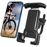 Fahrrad-Handyhalterung, YMWVH Motorrad-Handy-Halter 360 ° Drehung Fahrrad- und Motorrad-Lenker-Handy-Halter, weit kompatibel für alle Smartphones GPS andere Geräte Handy (4,7'-7')