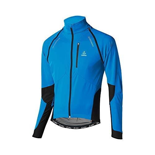 LÖFFLER Bike Zip Off Jacke San Remo WS Softshell Light Herren - 15922 - Windstopperjacke zum Radfahren