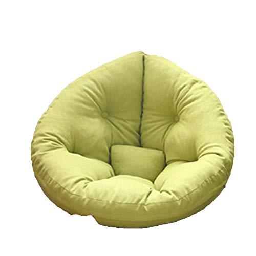 Wsaman Ocio plegable de tela clásica portátil perezoso, puf para tumbona perezosa, silla de almacenamiento, silla de juegos con transformable extraíble para leer, juegos, ver televisión, 1, S