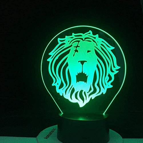 YGQersh Lámpara de ilusión 3D LED noche luz rueda bicicleta USB ambiente táctil control lámpara de mesa mejor cumpleaños vacaciones regalos niños-N9
