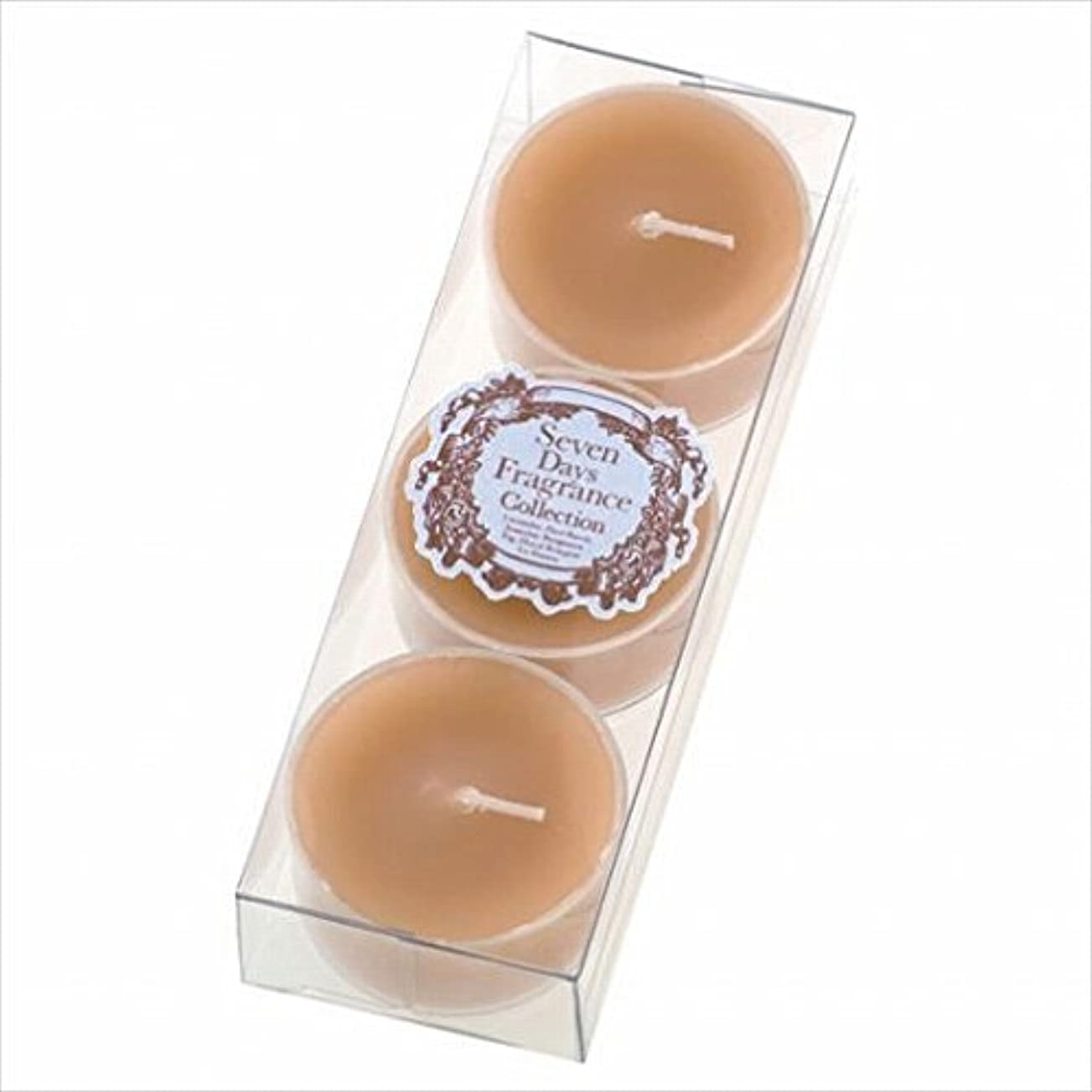 周術期朝ごはん煙カメヤマキャンドル( kameyama candle ) セブンデイズティーライト3個入り(火曜日) 「 ジャスミン 」