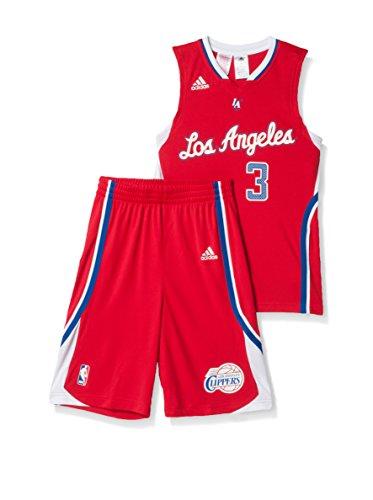 adidas Coordinato Sportivo Los Angeles Clippers Rosso/Bianco 8 Anni (128 cm)