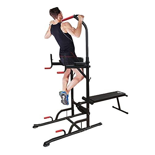seiyishiぶら下がり健康器 マルチ筋肉トレーニングマシーン コンパクト 懸垂マシン ベンチプレス マルチジム 自宅ジム 懸垂 マシン 腹筋 腕立て 背筋 フィットネス 自宅 SY-JS-120