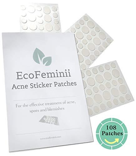 108absorción de lunares pegatinas para focos, acné, espinillas & imperfecciones–para piel clara, y eliminación de Pus Y Aceite secretions