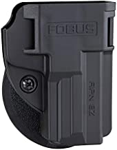 Fobus APN Series Concealed Carry Holster for Smith & Wesson M&P 380 Shield EZ Pistol, Appendix, IWB Belt Clip, OWB Paddle, Right Left Handed