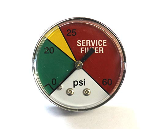 PG DCI-20 - Filter Color Indicator Male 8'' Gauge. Pipe. Rear 1 Special price for a limited Lowest price challenge time