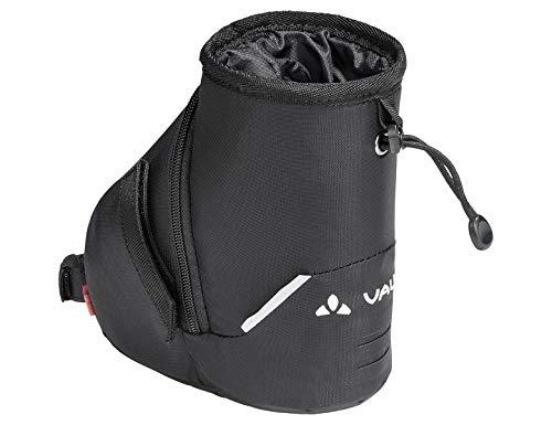 VAUDE Tool Drink, Satteltasche mit Flaschenhalterung Riemen, 18 cm, Black