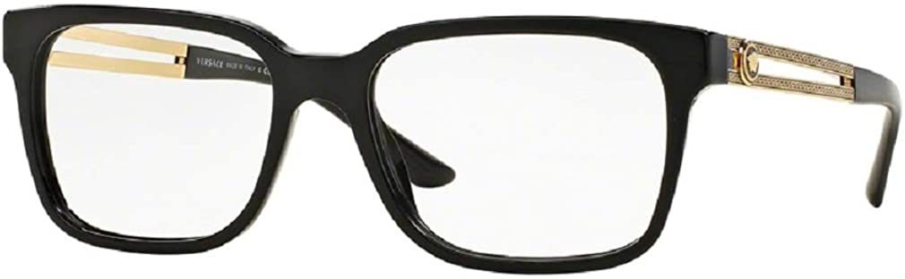 Versace VE3218 Square Eyeglasses For Men+FREE Complimentary Eyewear Care Kit