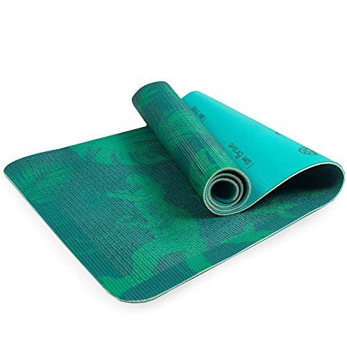 Myga Kinder-Yogamatte, bedruckt mit Jurassic Jungle, für Pilates, rutschfeste Mehrzweck-Fitnessmatte, Core Workout für Zuhause, Fitnessstudio, Studio