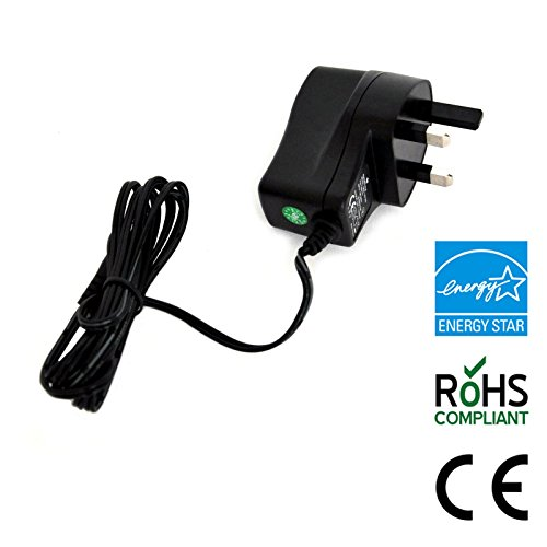 MyVolts 18V power supply adaptor compatible with Black and Decker EPC14 Drill charger receptacle - UK plug