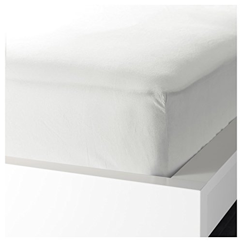 IKEA KNOPPA Standaard Kwaliteit Wit Elastische Hoek Eenpersoonsbed Hoeslaken Voor Regelmatig gebruik