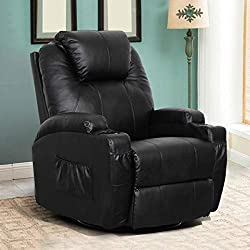 Esright Massage Recliner Chair - best living room chair for lower back pain