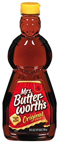 Mrs Butterworth#039s Original Thick and Rich Pancake Syrup 24 oz