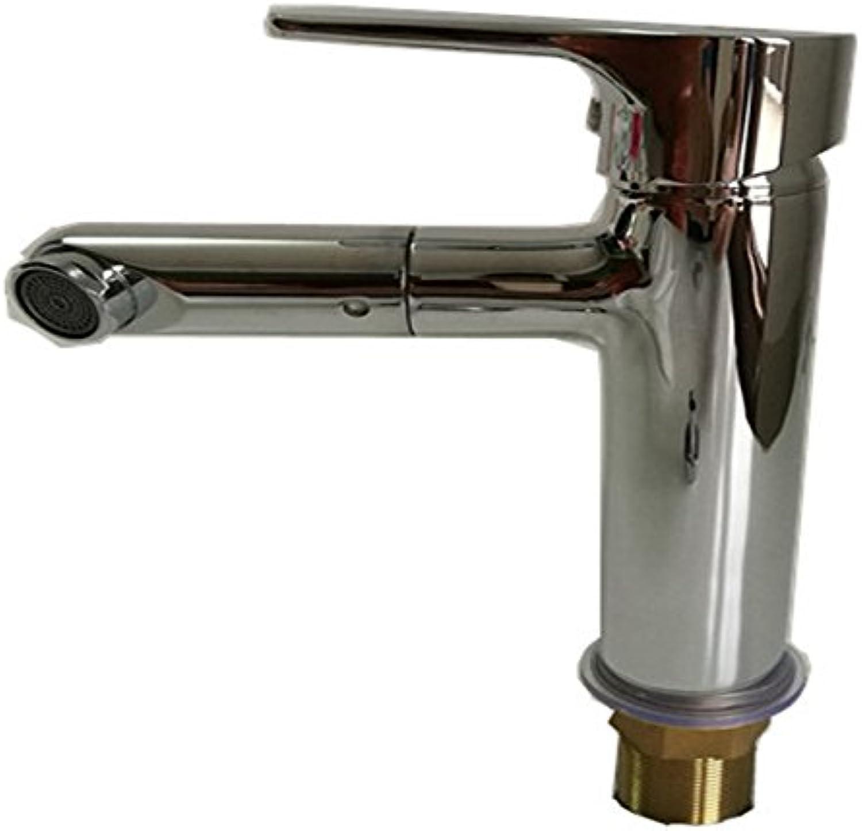 LHbox Messing Chrom rotierende heie und Kalte Einloch Waschtisch Armatur Waschbecken unter Das Wasserventil Armaturen