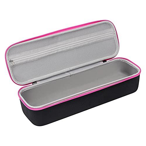 Glamgen Funda rígida para Revlon Pro RVDR5222 Pro Collection Salon One-Step para aire caliente y cepillo de volumen, funda de transporte (solo funda EVA)