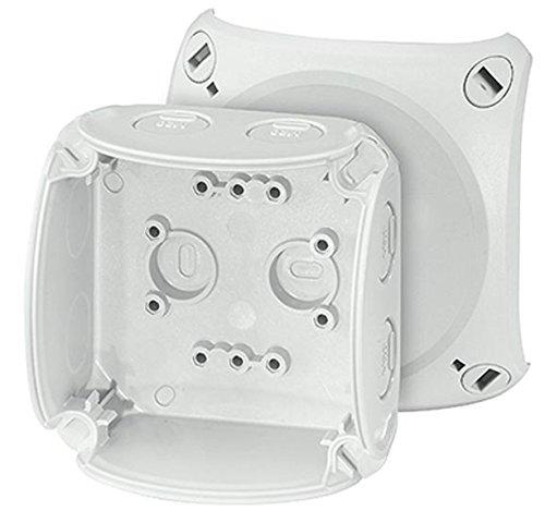Preisvergleich Produktbild Hensel KF 0200 G Polycarbonate Electrical Junction Box Electrical Junction Boxes (Grey,  93 mm,  62 mm,  93 mm,  110 g)