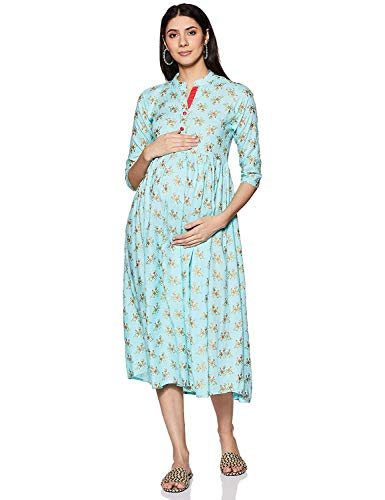 BANAS Women's Midi Empire Dress