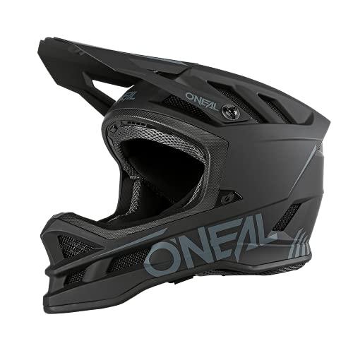 O'NEAL   Casco da Mountainbike   MTB Downhill   Dri-Lex® Lining, aperture di ventilazione per il raffreddamento, guscio esterno in ABS   Casco in POLIACRYLITE Blade SOLID   Adulto   Nero   Taglia M