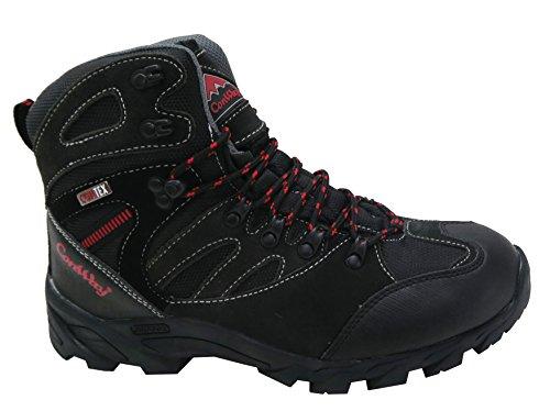 ConWay Unisex Trekking- und Wanderschuhe für Damen und Herren schwarz Gr.37