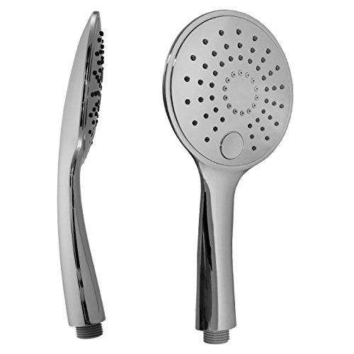 Design douchekop/handdouche met 3 straalsoorten en gestandaardiseerde 1/2 inch aansluiting