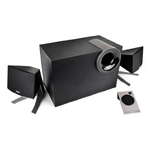 EDIFIER M1380 2.1 luidsprekersysteem (28 watt) met kabelafstandsbediening
