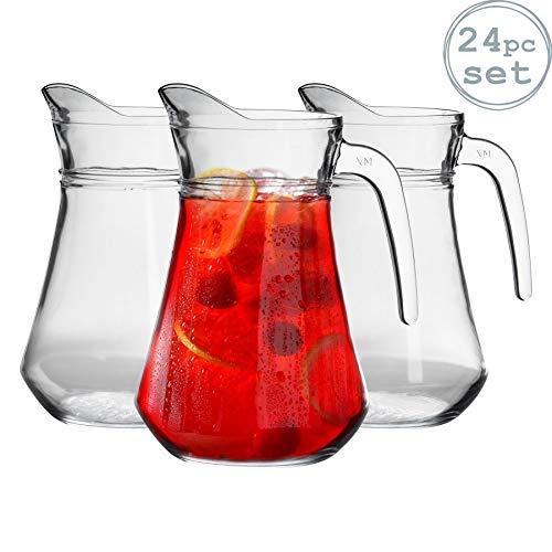 Argon Tableware Pichet à Eau/à Cocktails - 1480ml (52oz) x 24