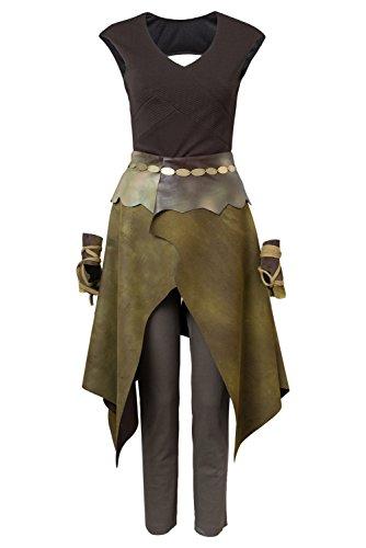 GOT Game of Thrones Season 6 Daenerys Targaryen Dany Indigenous Mutter der Drachen Outfit Cosplay Kostüm Damen M