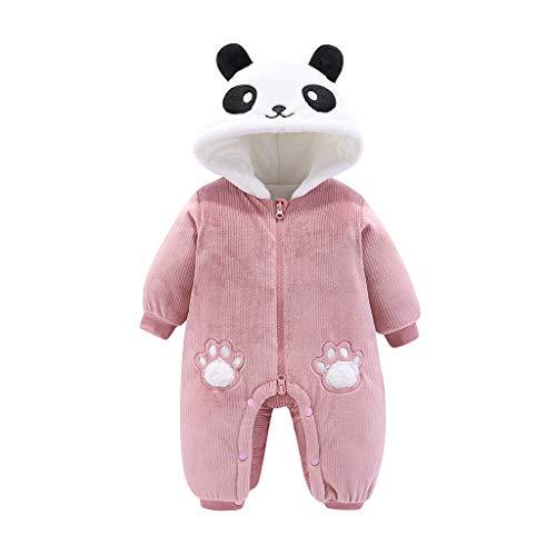 Sombrero de panda de manga larga con capucha, ideal para recién nacidos y reuniones familiares.
