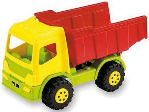WDK Partner - A1100054 - Jeu de Plein Air - Camion Benne plastique - 40 cm - Coloris aléatoire