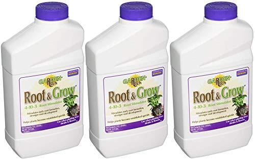 Bonide 412 Root N' Grow Stimulator, 1-Quart (Pack of 3)