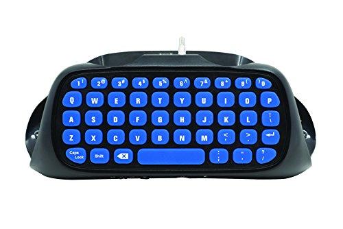 snakebyte PS4 KEY:PAD - Keyboard / Tastatur / Chatpad für Dualshock 4 Controller - zur Verwendung mit PlayStation 4