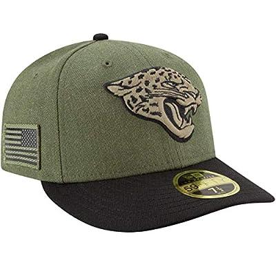 New Era Jacksonville Jaguars 2018 NFL Salute to Service Low Profile 59FIFTY Cap Olive