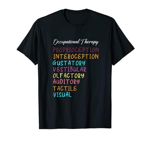 Terapia Ocupacional Sistemas Sensoriales - Terapeutas OT Camiseta