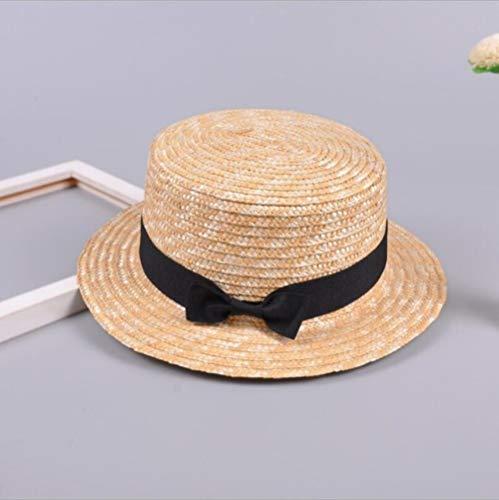 YHWW Sombrero para el Sol,Verano para Padres e Hijos Bowknot Sombrero para el Sol Niñas...