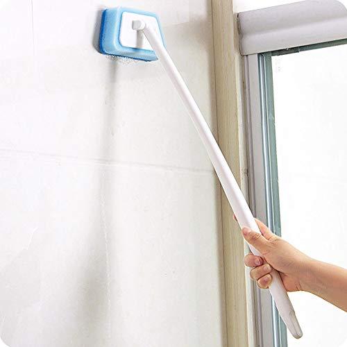 Cicony Reiniger Griff mit langem Griff, Reinigungswerkzeug, Küchenwerkzeug, multifunktional, langlebig, Blau, blau, Einheitsgröße