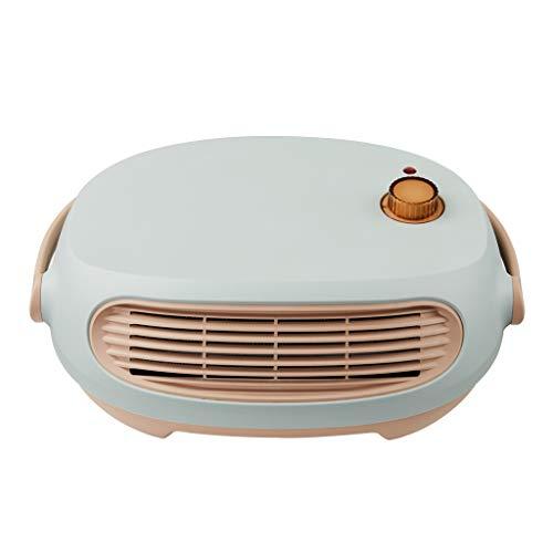 Portátil Calentador De Ventilador, Calentador Eléctrico Silencioso De Montaje En Pared, Calentador Personal Para Oficina, Ahorro De Energía, 3 Opciones De Calefacción ( Color : Green , Size : 220V )