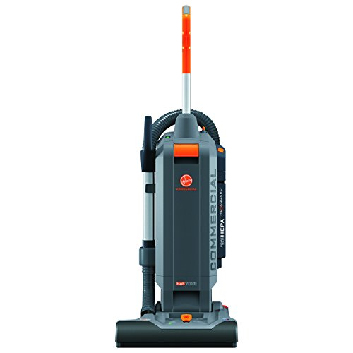 Best Quiet Upright Vacuum Cleaner - Hoover Commercial HushTone Hard-Bagged Upright Vacuum Cleaner