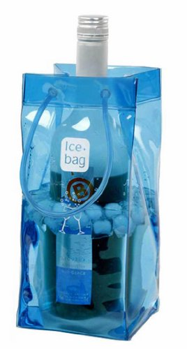 Portable Ice Bag - Blue by HomeAndWine.com