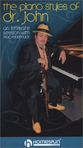 2 New item VHS-The Piano Styles of Latest item Dr John