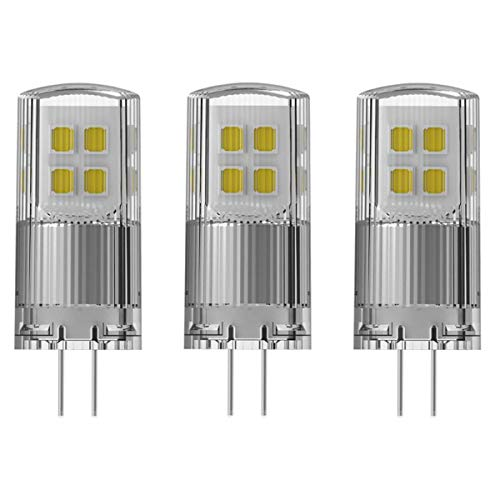 OSRAM LED SUPERSTAR PIN 20 DIMMABLE G4 2W=20W 200lm 300° warmweiß 2700K 80Ra 3er