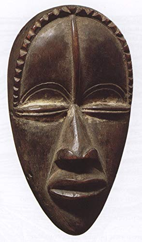 368 masker van de stam dan west Afrika 1910 20 - Film Film Poster - Beste Print Kunst Reproductie Kwaliteit Wanddecoratie Gift Poster A4