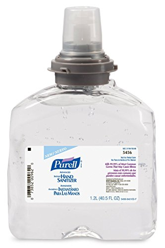 Purell 5456 TFX Refill - Advanced Instant Hand Sanitizer - 1200 ML - 1 Bottle