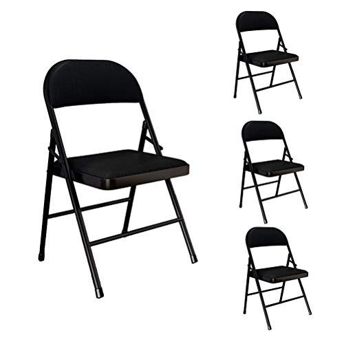 YPEZ 2-teilig Komfortabler und Schöne Einzel Chair (Party-Ereignis Durable Klappstuhl), bequemen Sessel for Besprechungszimmer, Parties, Kaffeehäuser, Restaurants (Größe : 4pack)