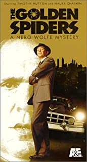The Golden Spiders: A Nero Wolfe Mystery VHS
