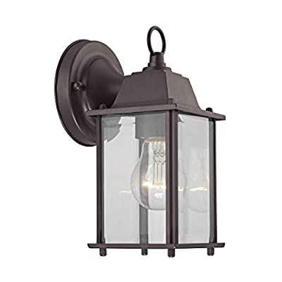 Cornerstone Lighting 9231EW/75 1 Light Outdoor Wall Sconce, Oil Rubbed Bronze