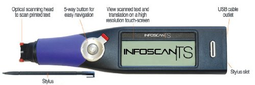 Infoscan TS English/Italian/Spanish/German/French/Portuguese Scanner