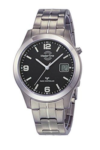 Master Time Funk Quarz Herren Uhr Analog-Digital mit Titan Armband MTGT-10349-22M