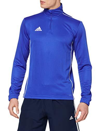 adidas CORE18 TR Top Sudadera, Hombre, Bold Blue/White, XL